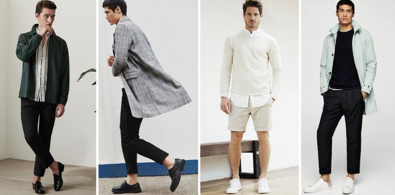 Les vêtements hommes tendance pour la saison printemps-été 2018